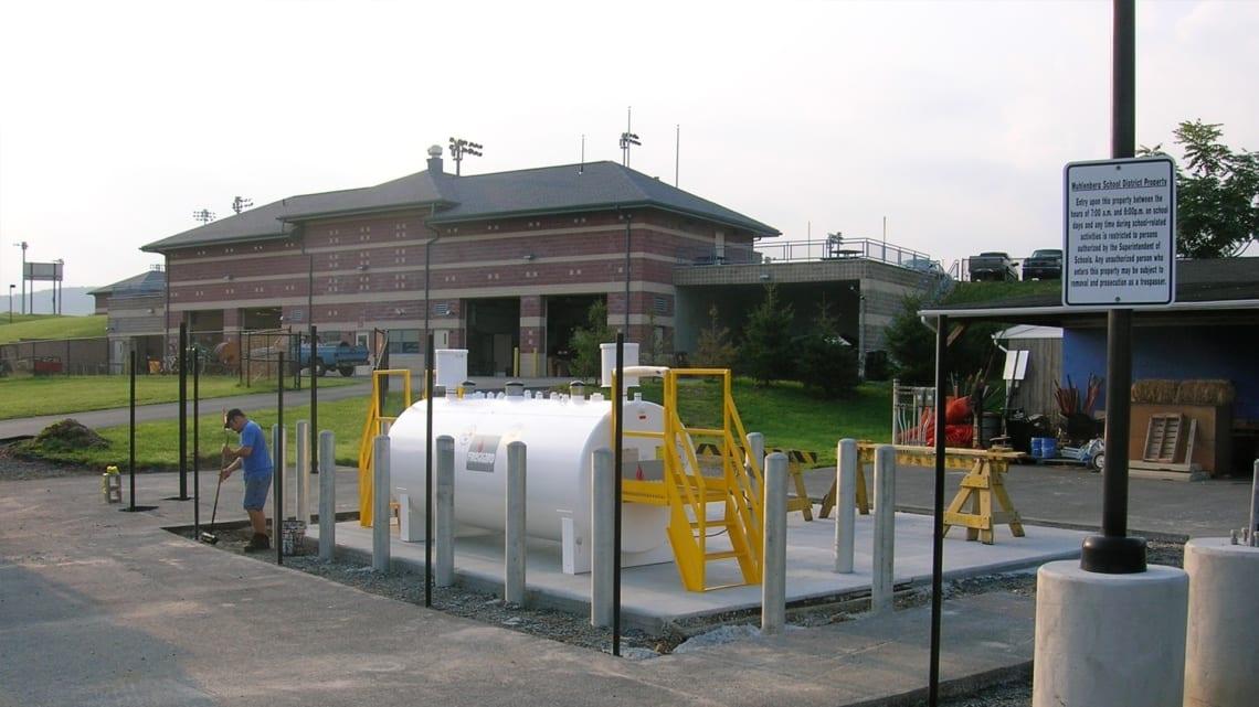 Muhlenberg High School Fueling Station