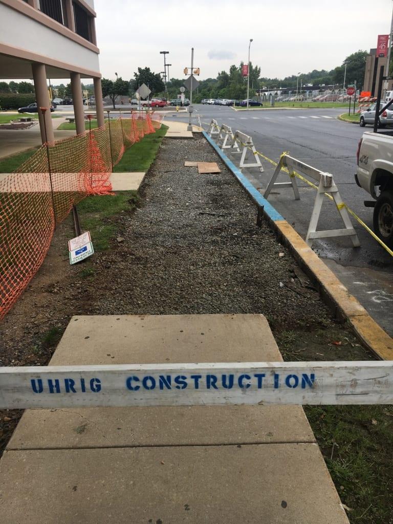 RAC Concrete Sidewalk